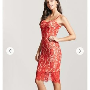 Lace Sweetheart Dress